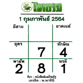 เลขเด่นหวยไทยรัฐ